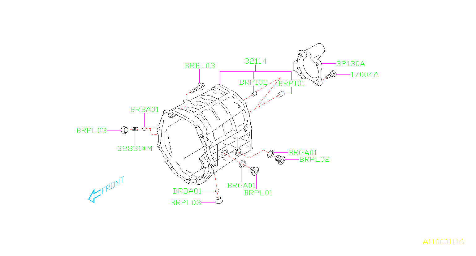 Subaru Brz Plug Maintenance Drain Transmission