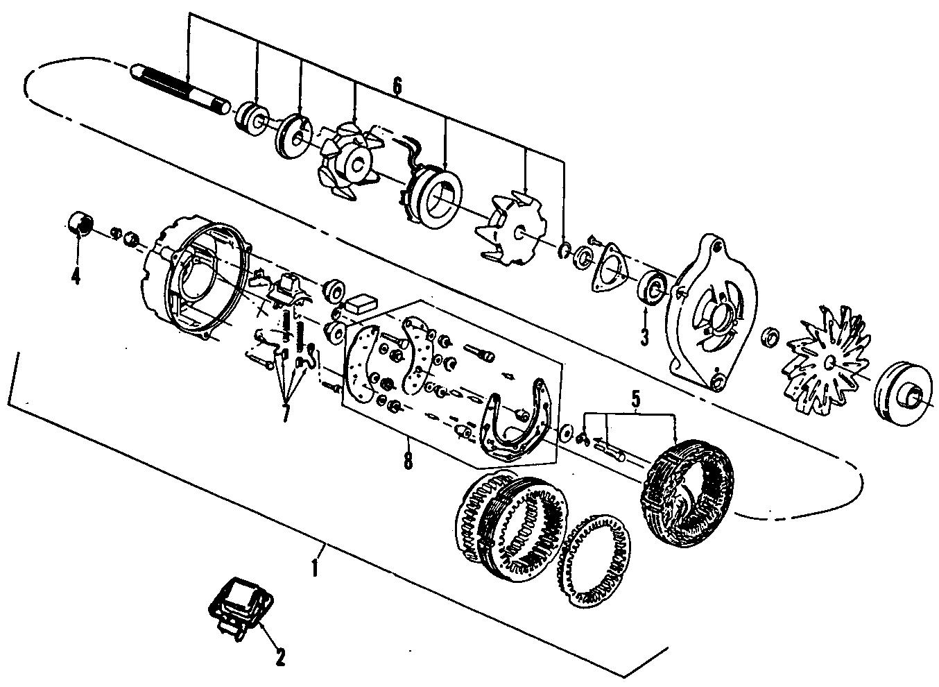 Ford Bronco Ii Voltage Regulator