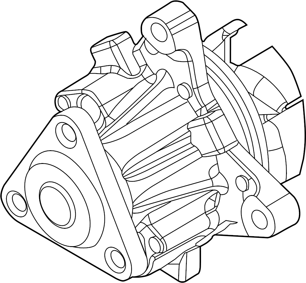 Ford Focus Water Pump Engine Liter Cooling