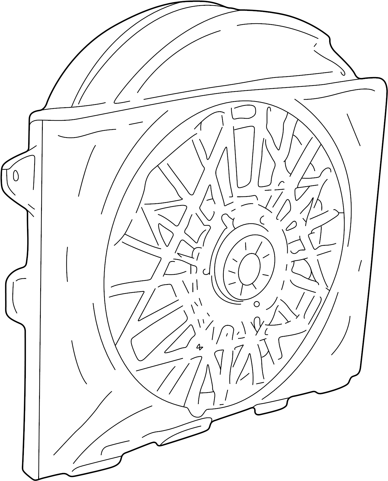 16 Lb Radiator Cap Ford