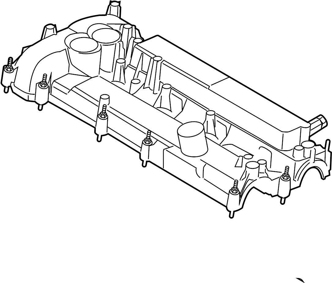 Ford Explorer Engine Valve Cover Liter Bearings Timing