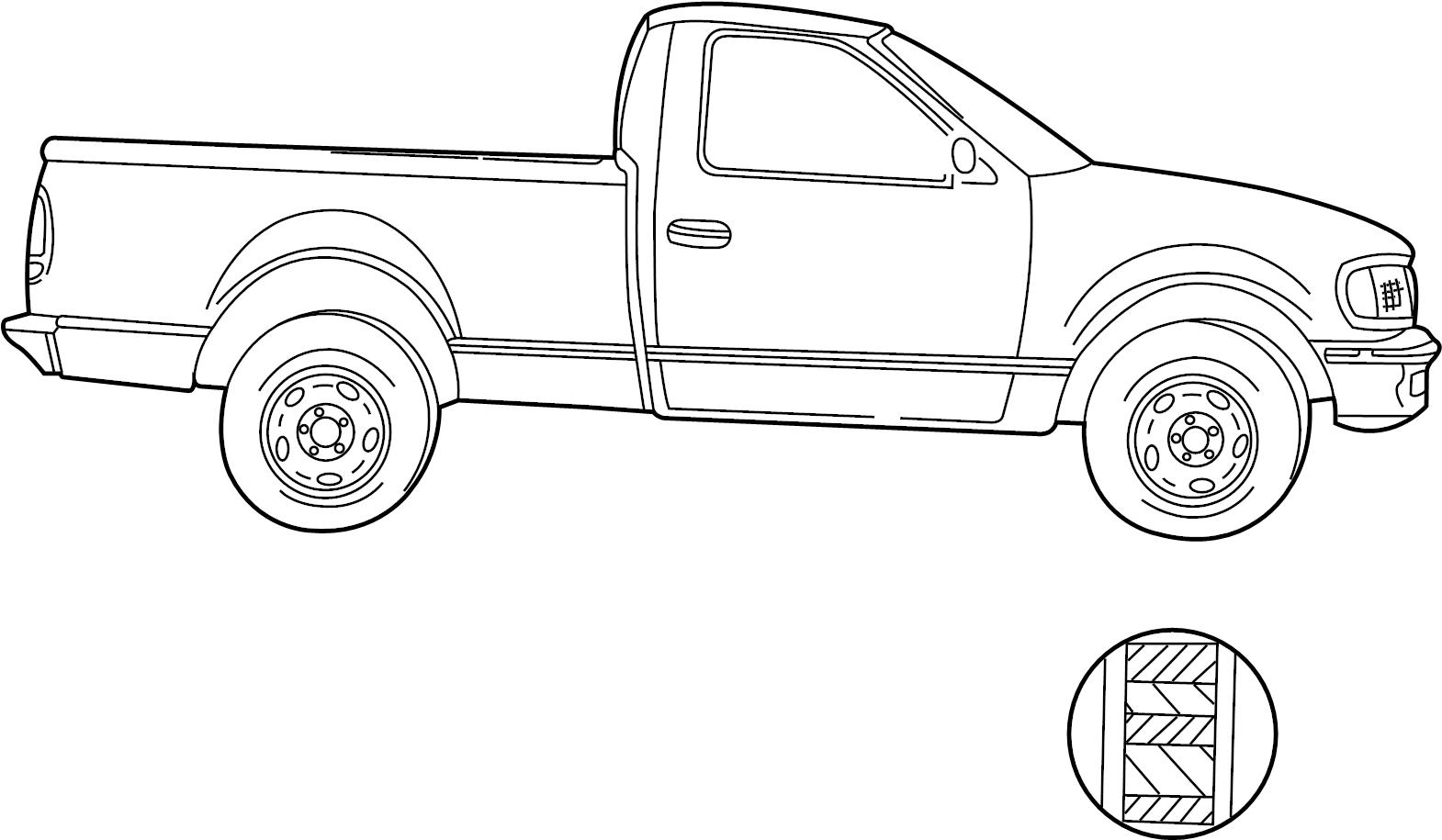 Ford F 150 Stripe Tape Kit Decal Trim Type 8