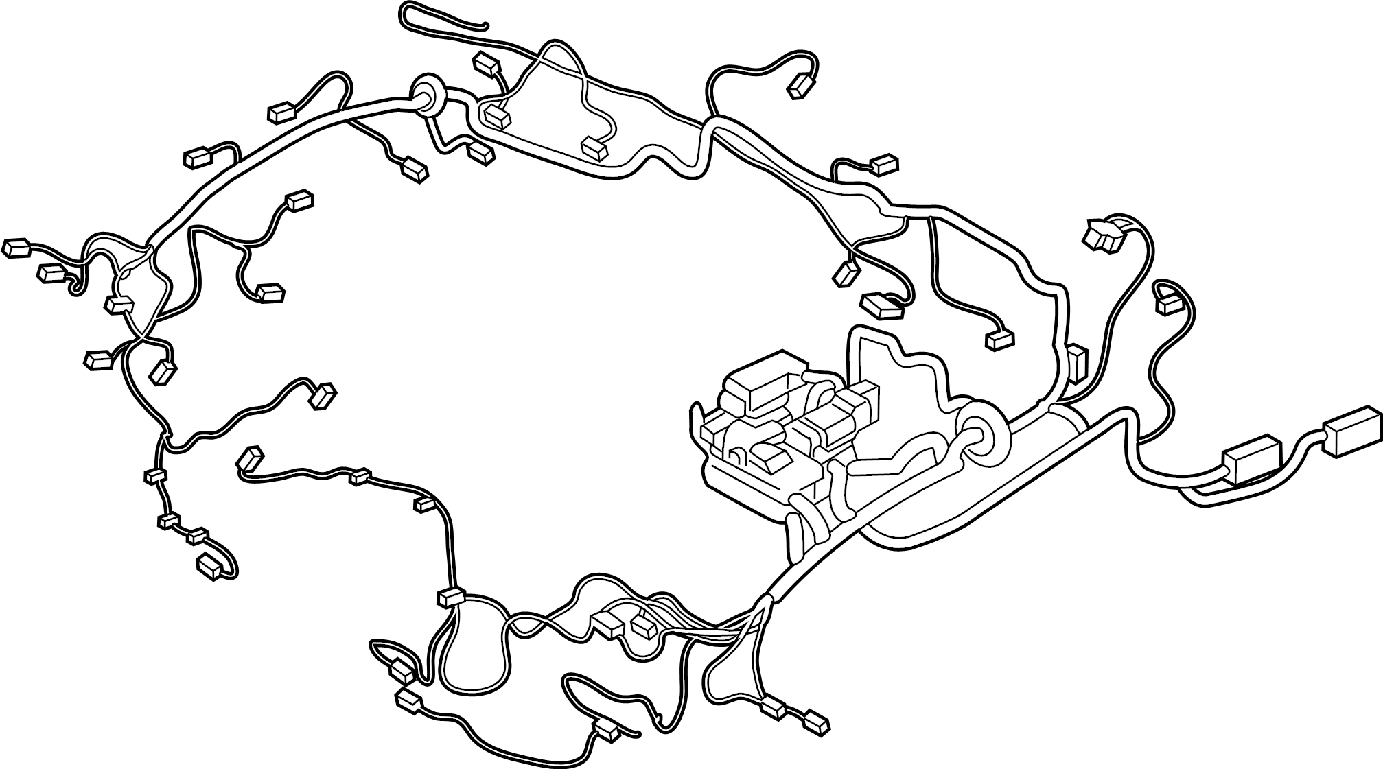 Ford Ranger Wire Harness Wiring Assembly Engine