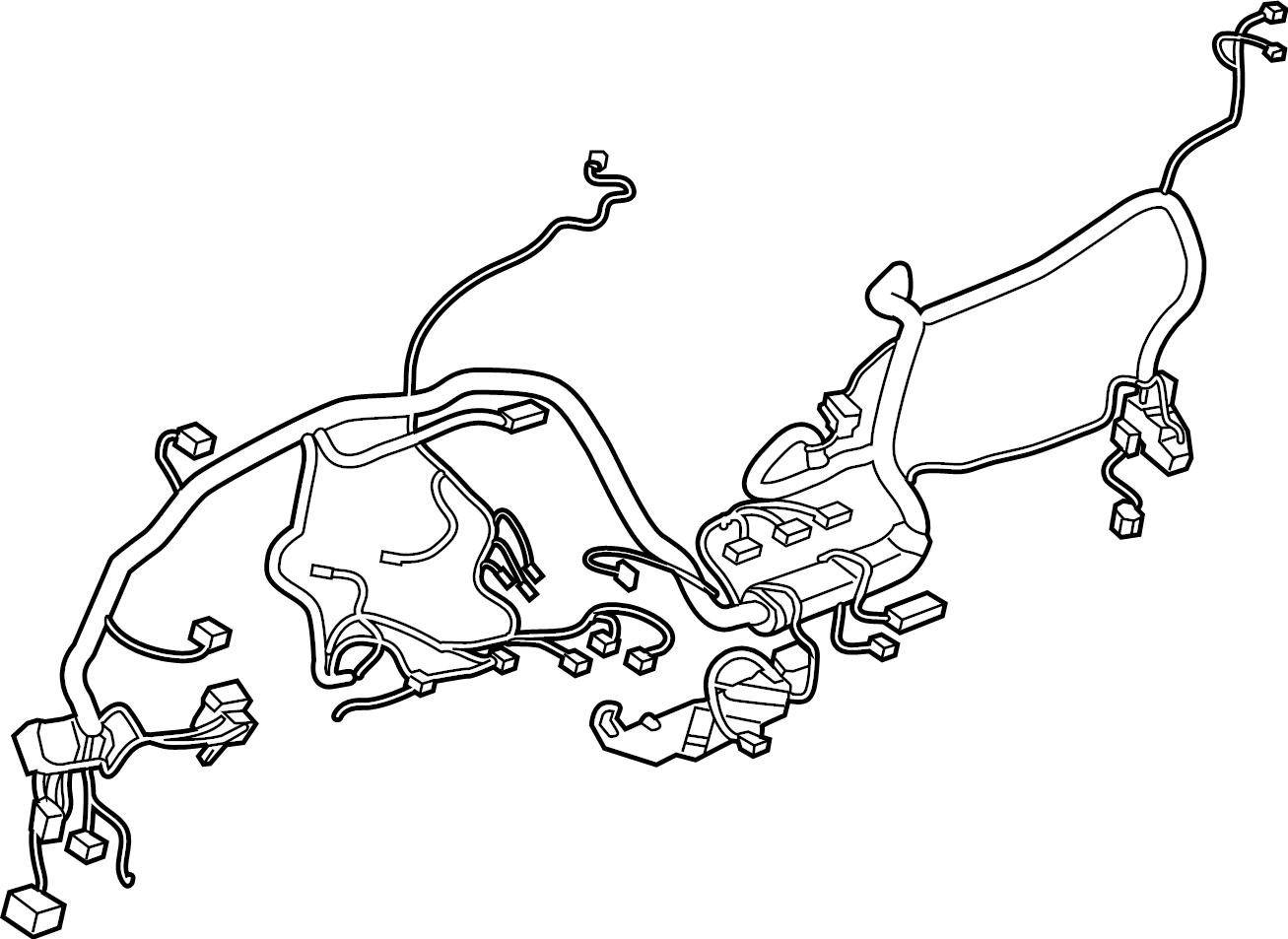 Ford Ranger Instrument Panel Wiring Harness Instrument