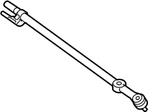 AC3Z3304B  Ford Center link ROD ASSEMBLY  DRAG LINK Steering Drag Link Linkage that