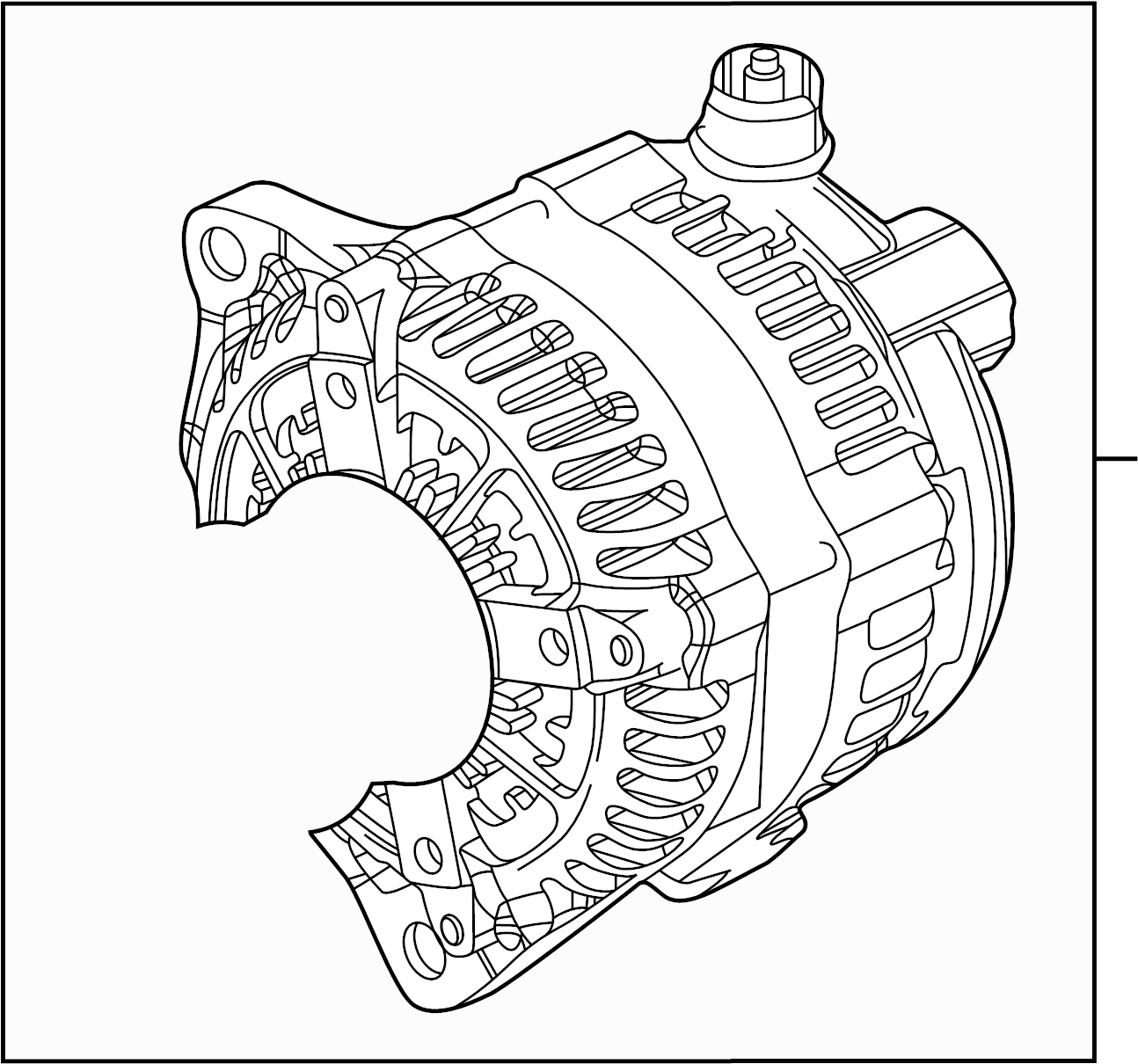 Ford F 250 Super Duty Alternator Assembly Alternator