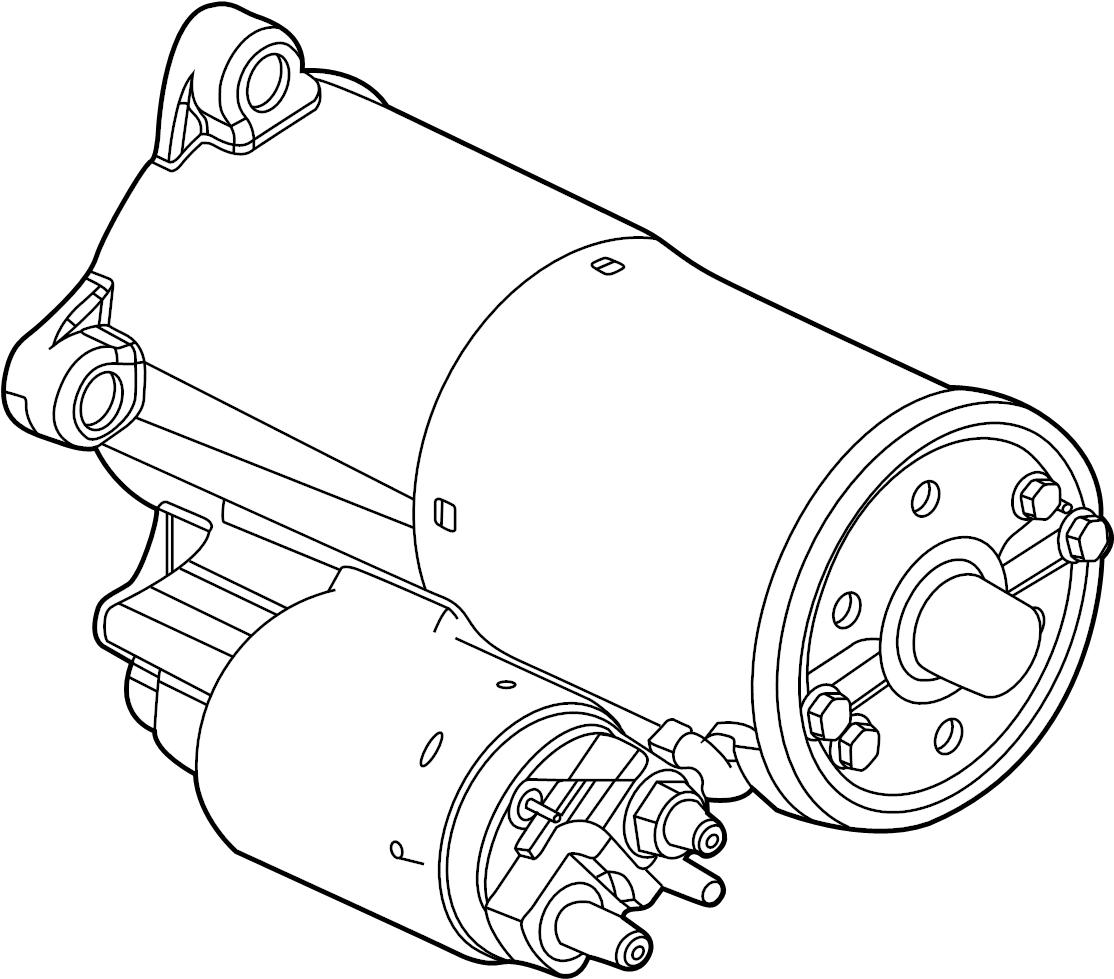 Ford F 350 Super Duty Starter Motor