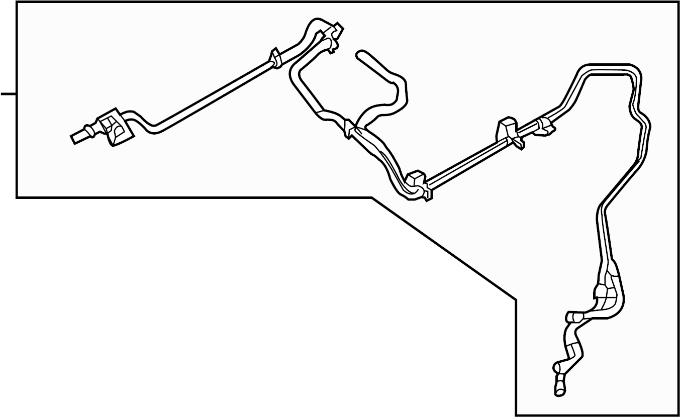 Ford Fusion Vacuum Line Liter Engine Components