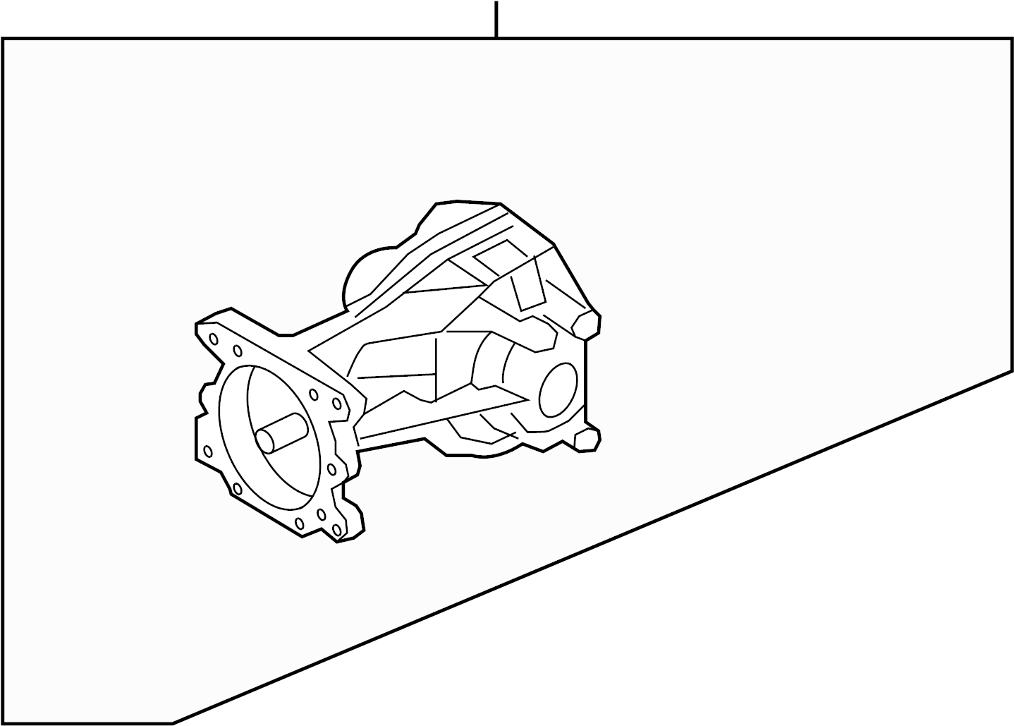 Ford Drive Axle Assembly Rear Differential