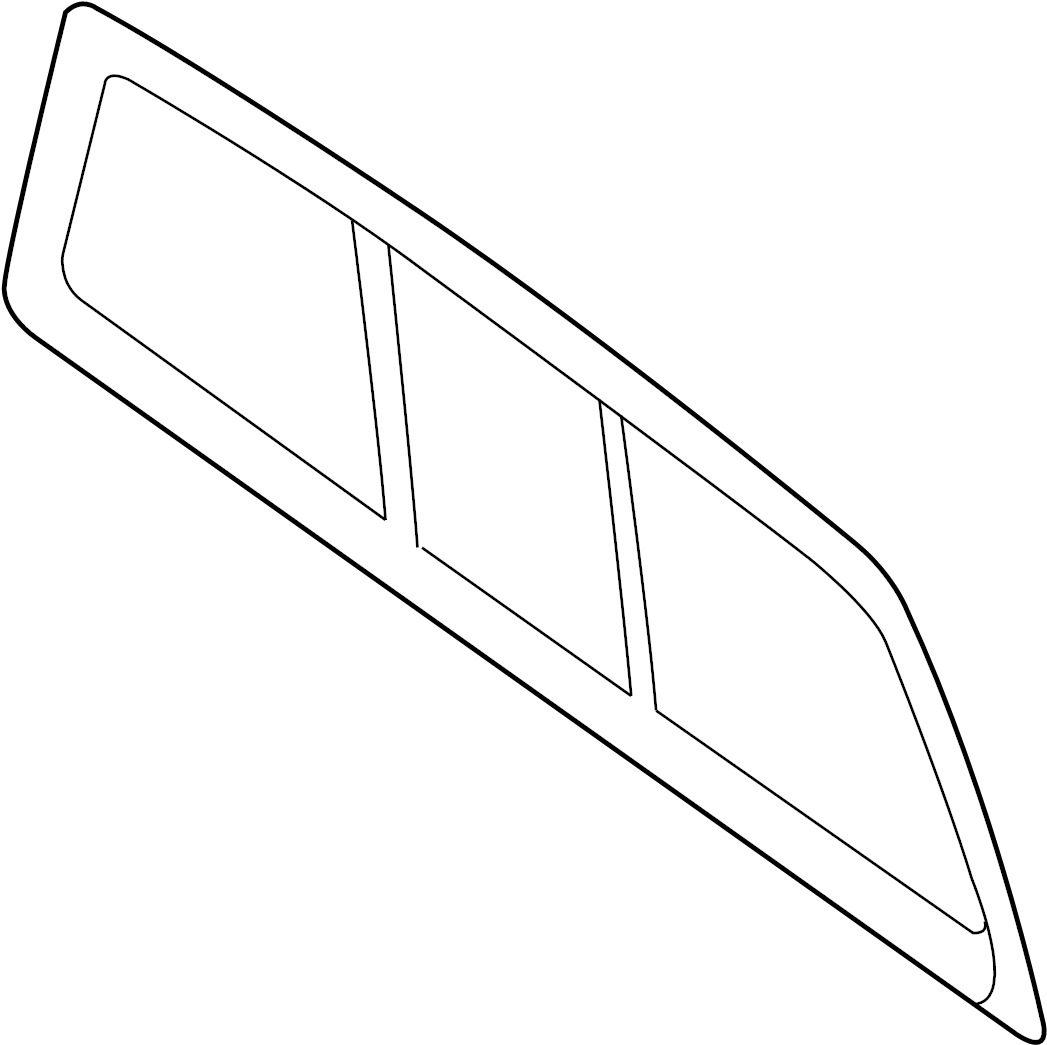 Ford F 150 Glass Rear Window Sliding Power