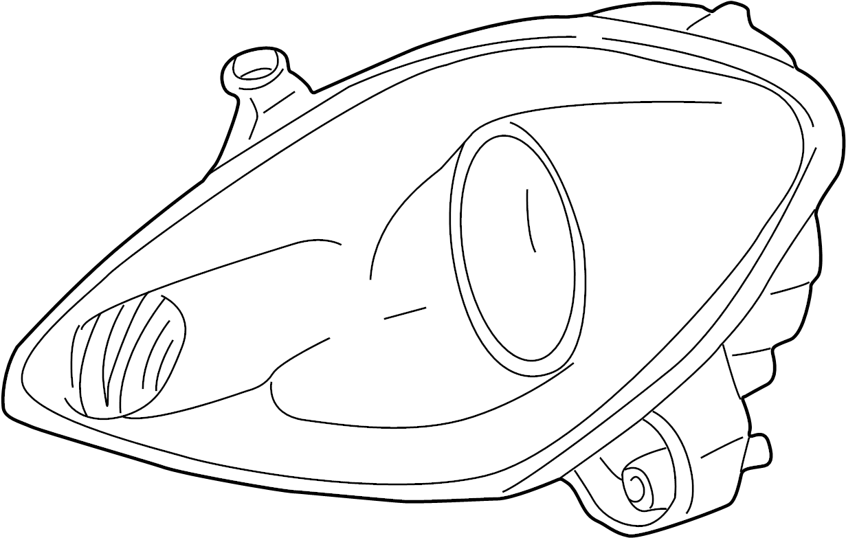 Toyota Mr2 Spyder Unit Headlamp Lh Unit Assy Headlamp