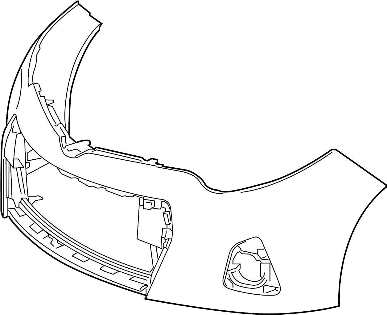 Toyota Corolla Bumper Cover Front Upper Component