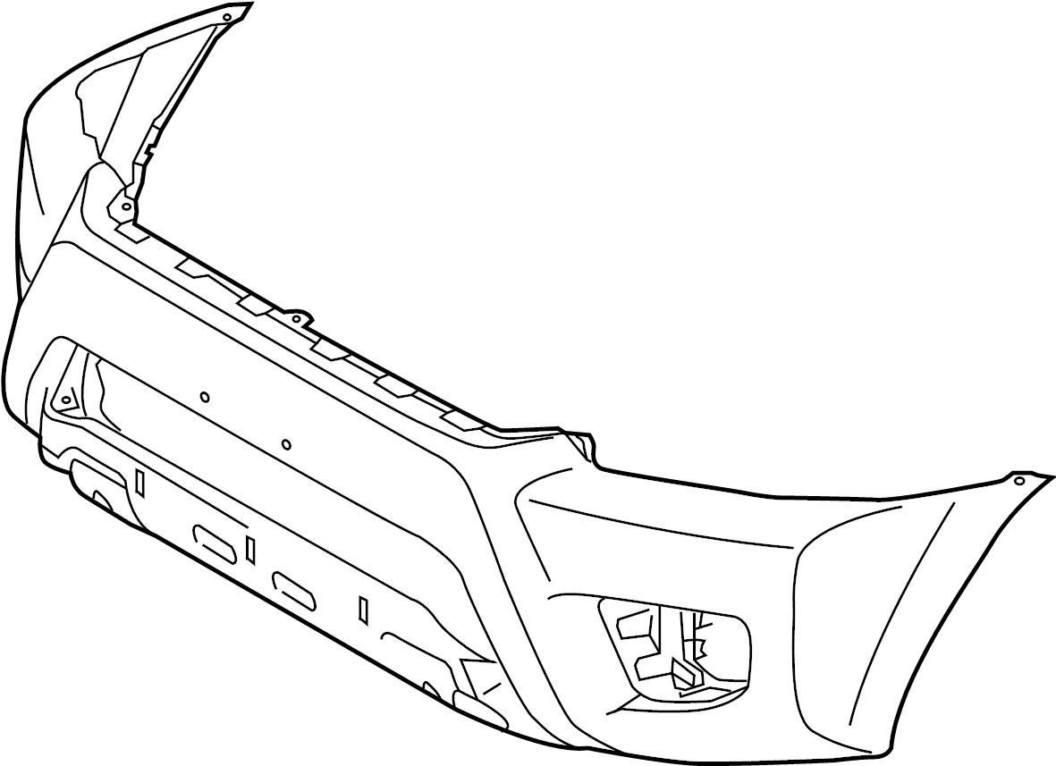 Toyota Tacoma Bumper Cover Wxrunner