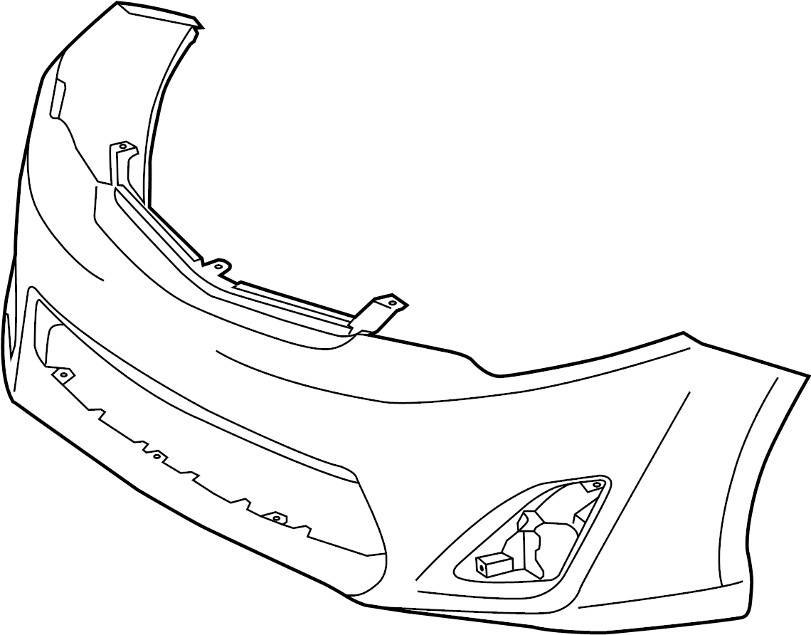 Toyota Camry Bumper Cover Models Preparation Oem