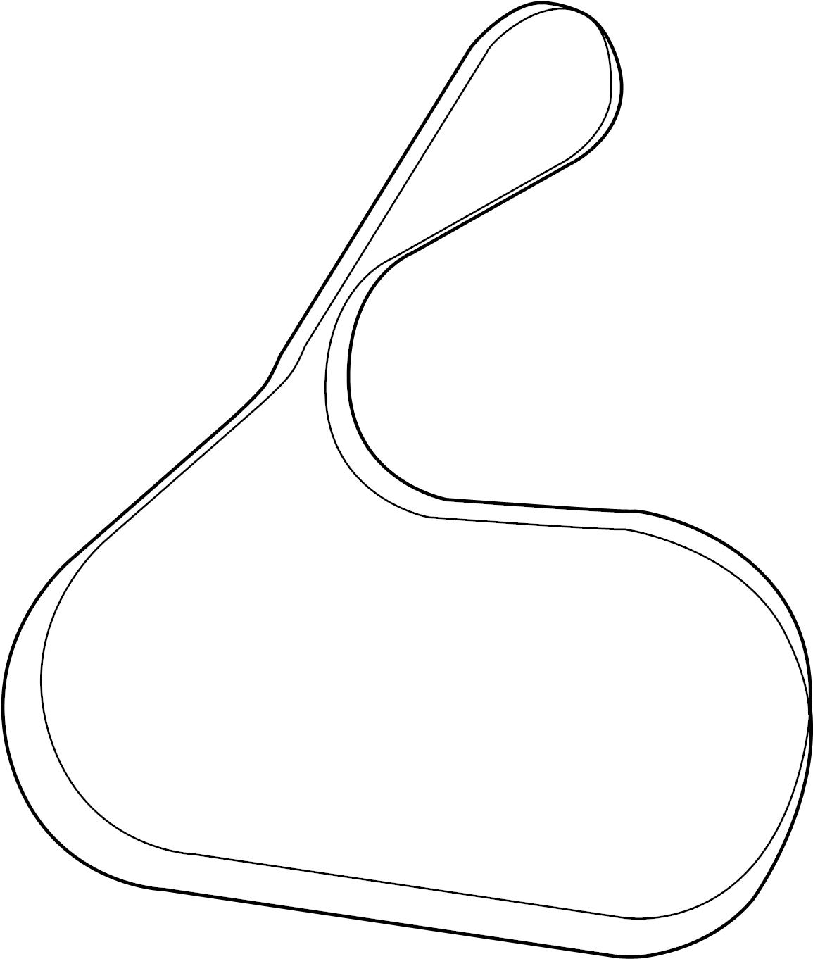 Toyota Highlander Belt V For Fan Amp Alternator Belt V