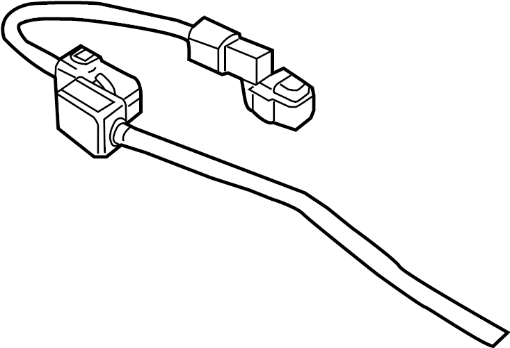 Land Rover Range Rover Positive Cable 09