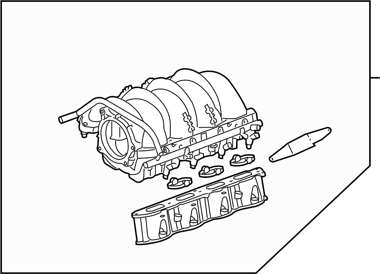 Land Rover Range Rover Engine Intake Manifold