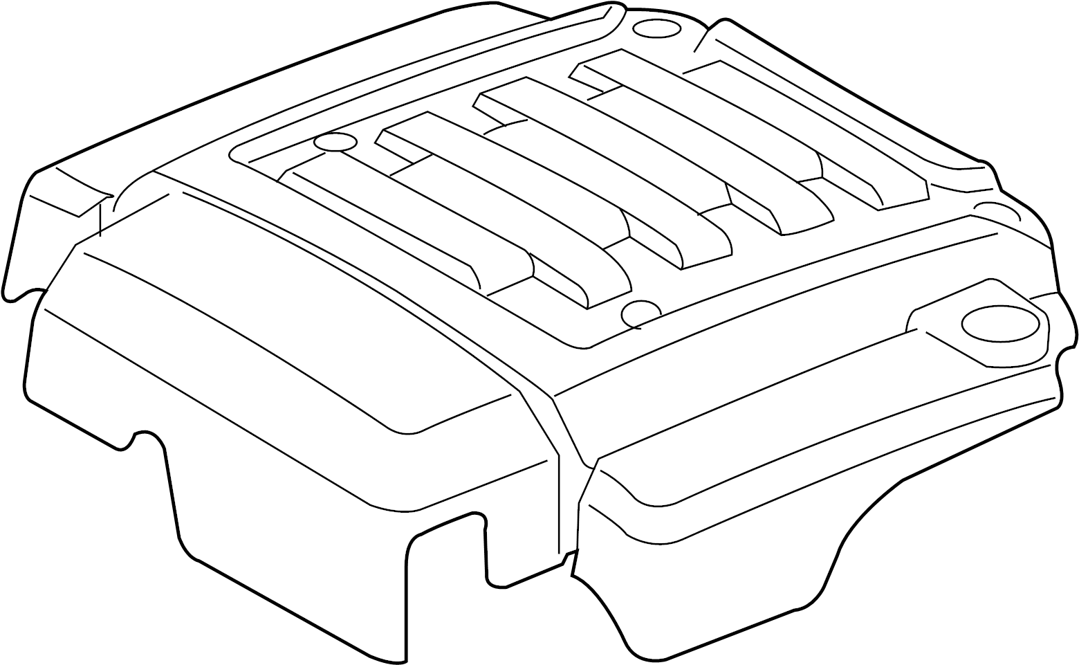Land Rover Range Rover Engine Cover Insulator