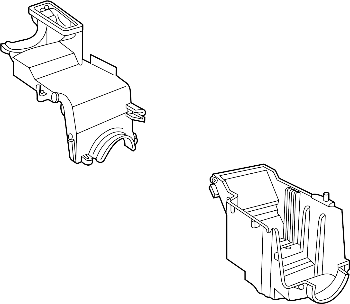 Land Rover Freelander A C Evaporator Core Case