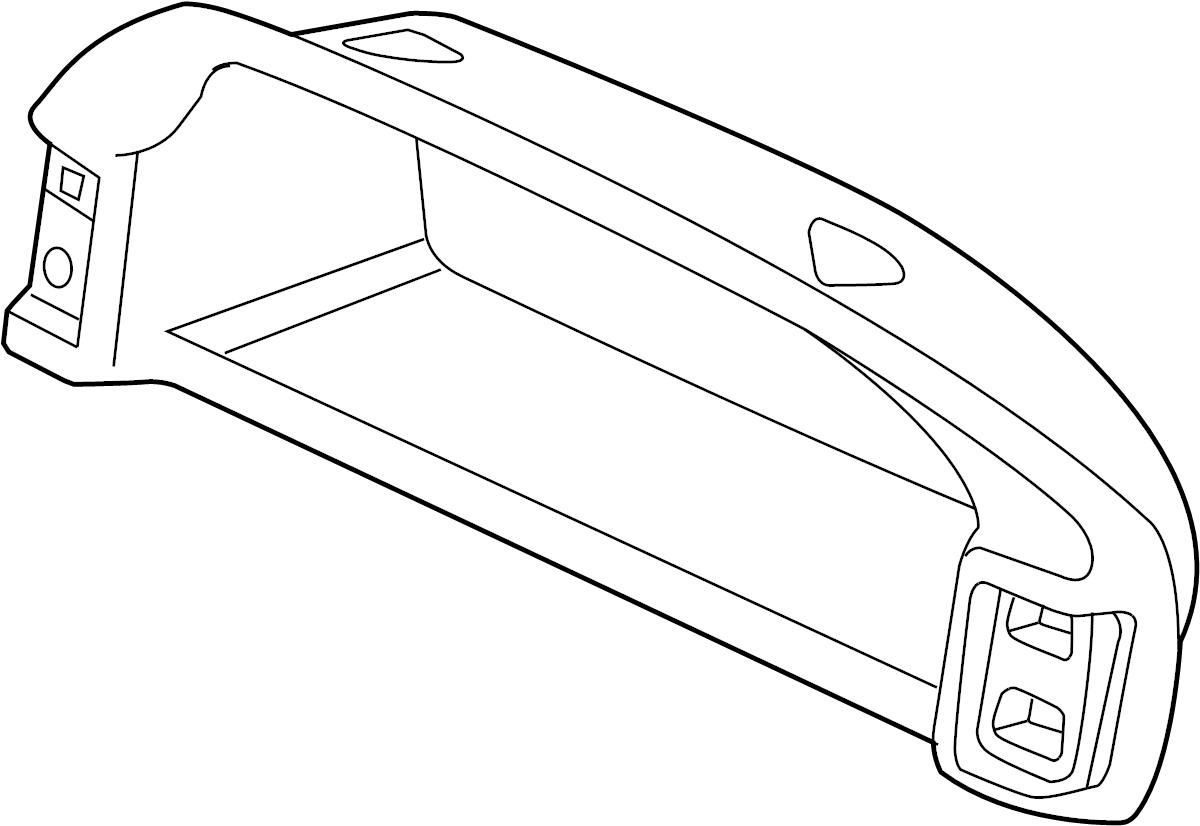 Land Rover Freelander Instrument Cluster Bezel