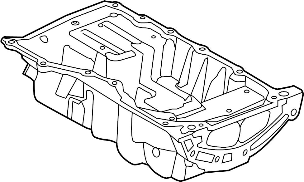 Land Rover Range Rover Evoque Engine Oil Pan