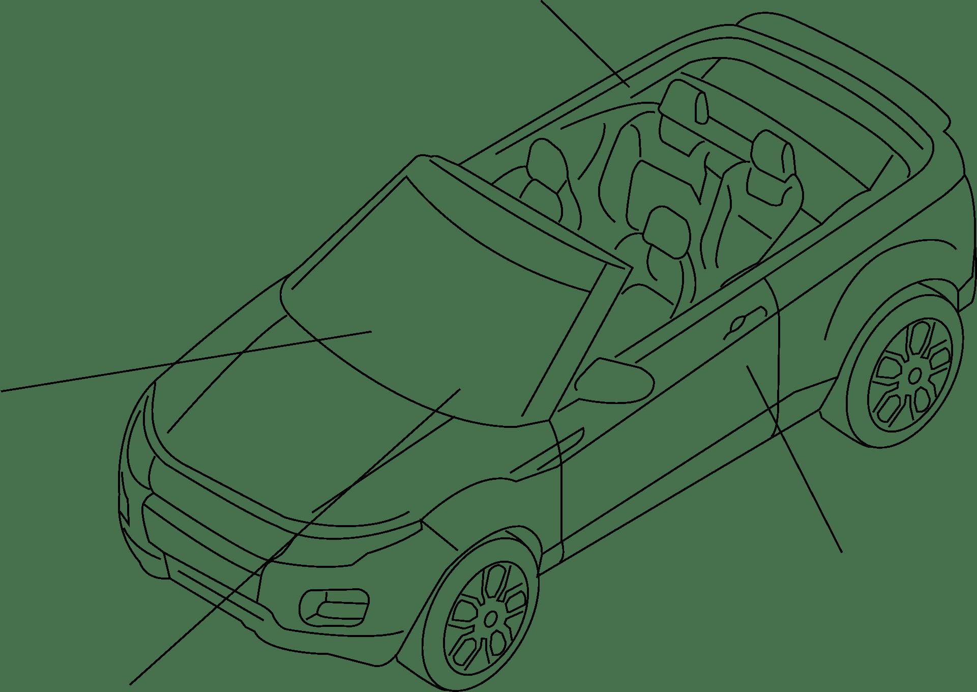 Land Rover Range Rover Evoque Sensor Impact Air