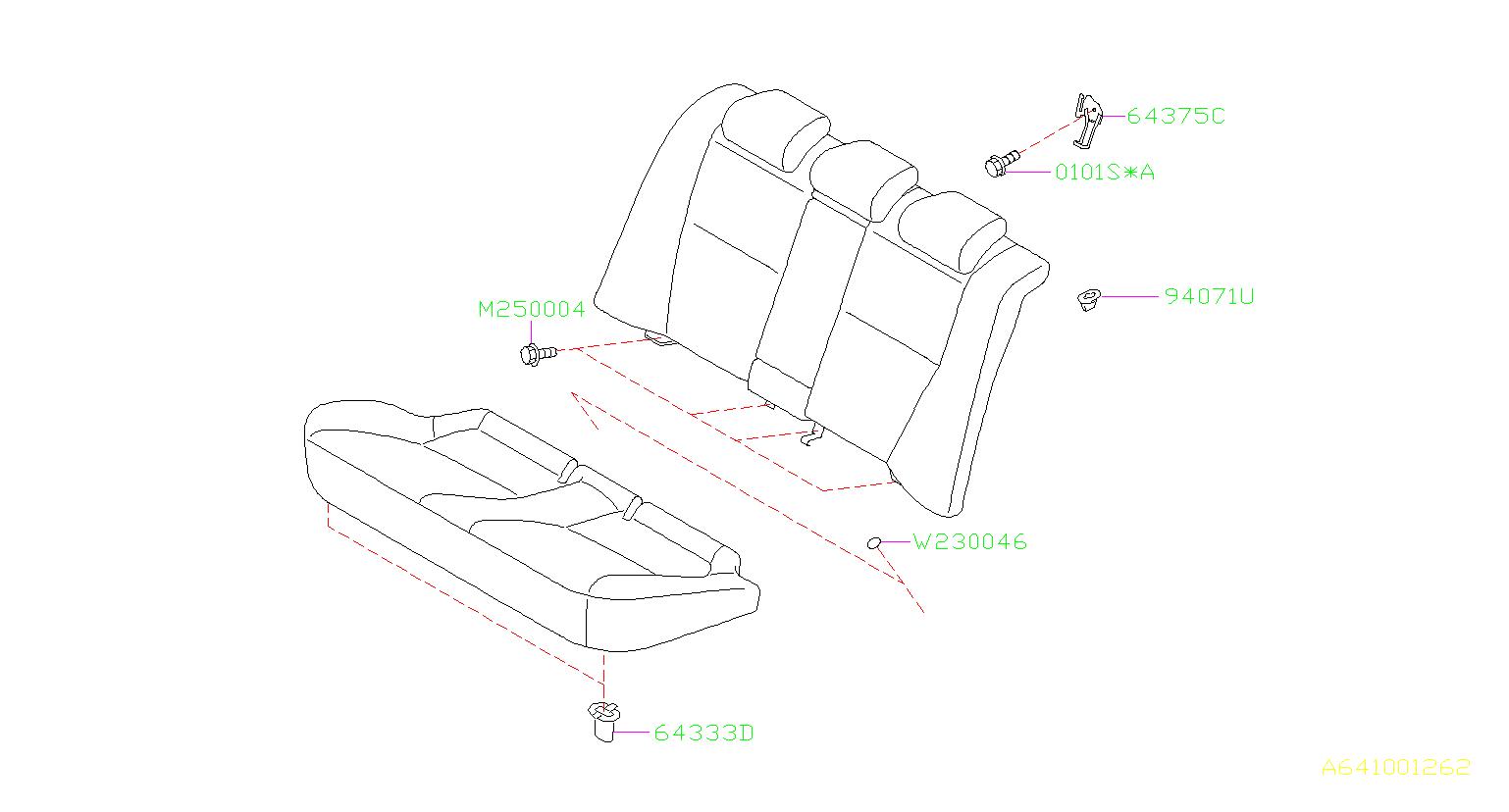 Subaru Outback Door Sill Plate Clip Trim