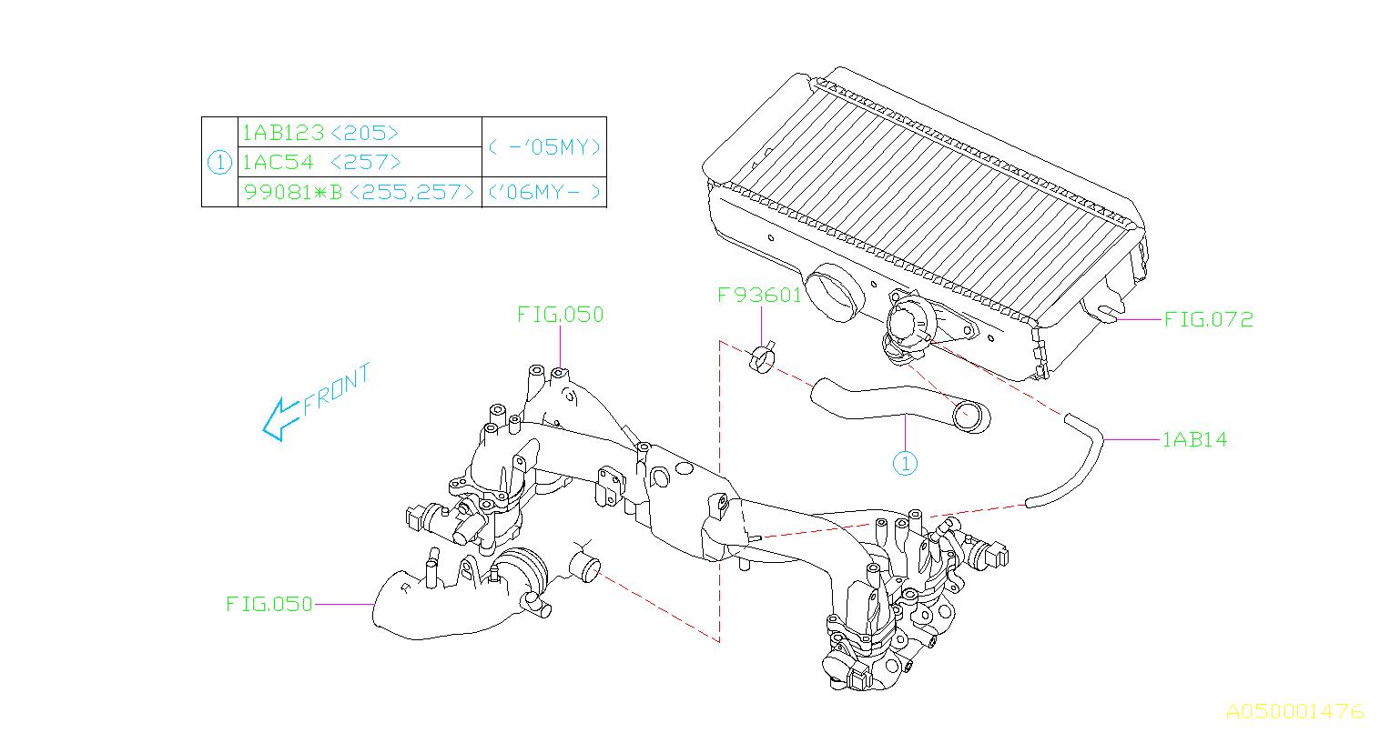 Subaru Wrx Hose Vacuum Maintenance