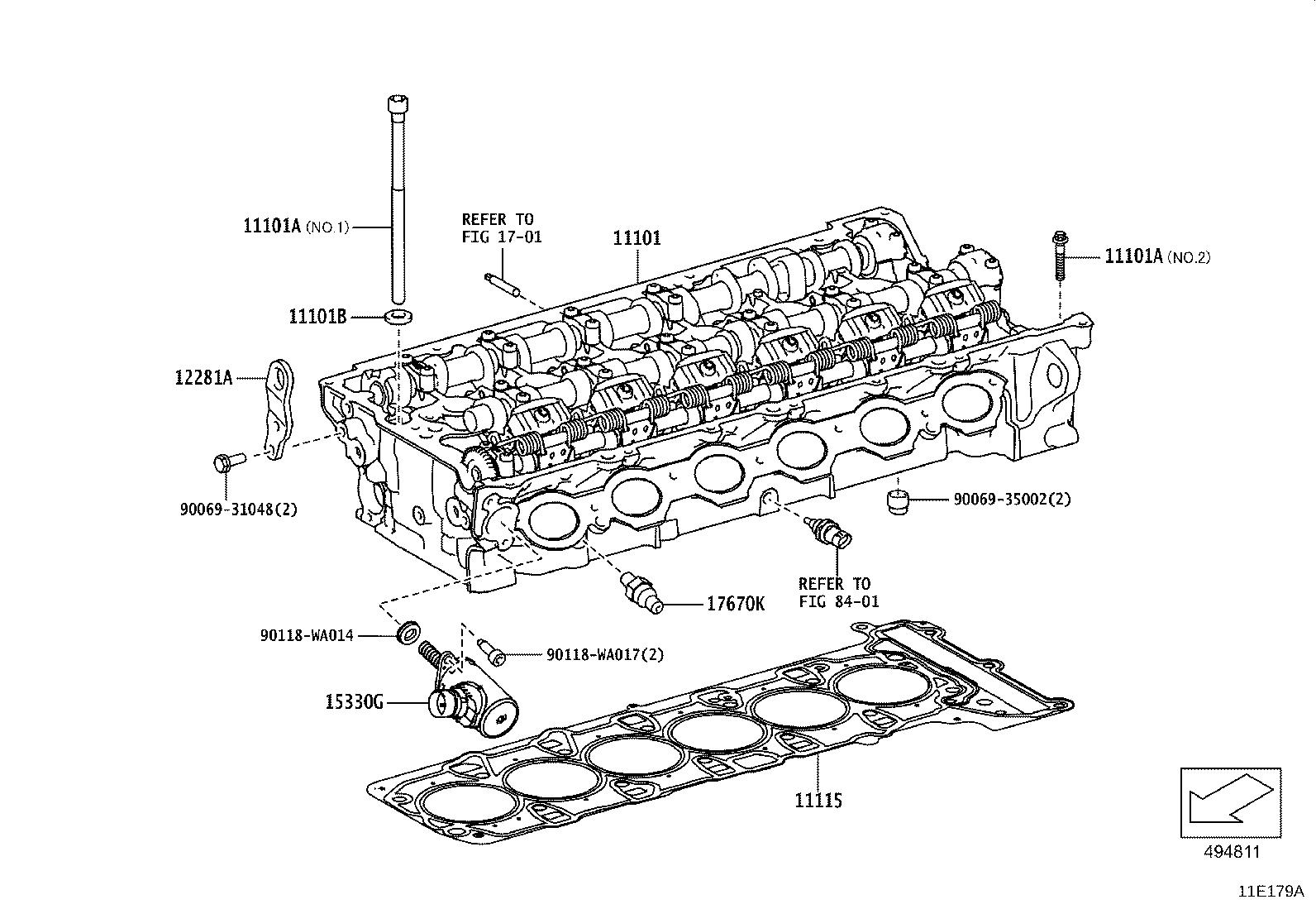 Toyota Supra Engine Cover Rear Cover Cylinder Block
