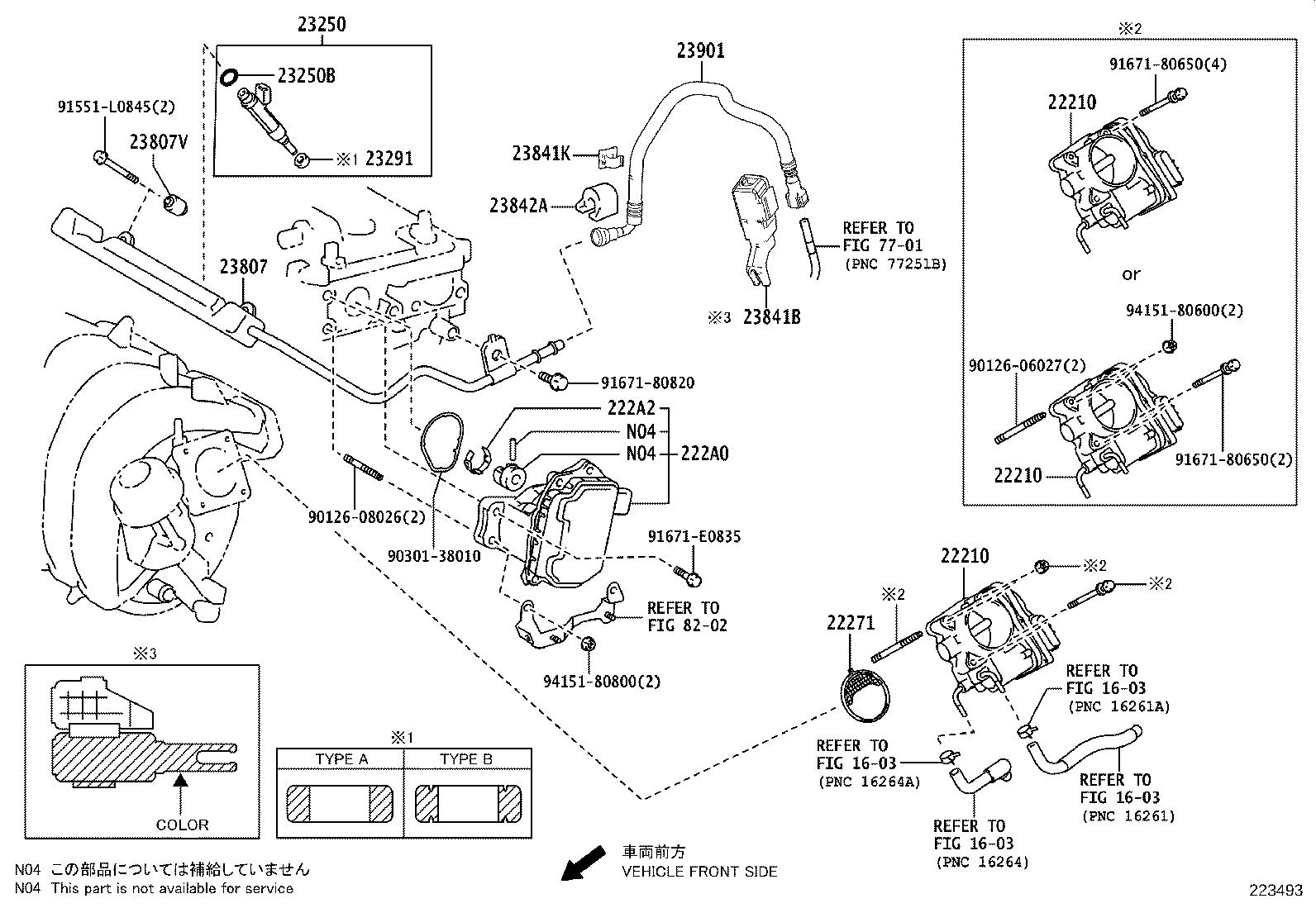 Toyota C Hr Engine Variable Valve Timing Vvt Solenoid