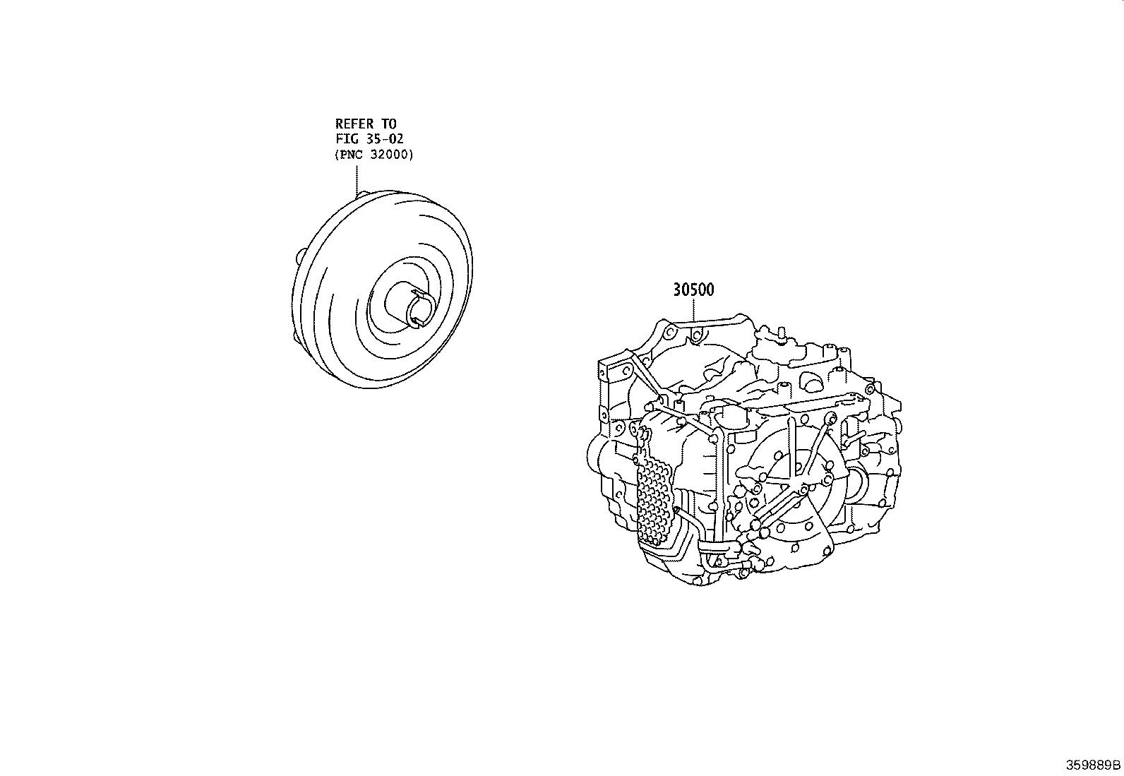 Toyota Camry Automatic Transmission Atm Transaxle