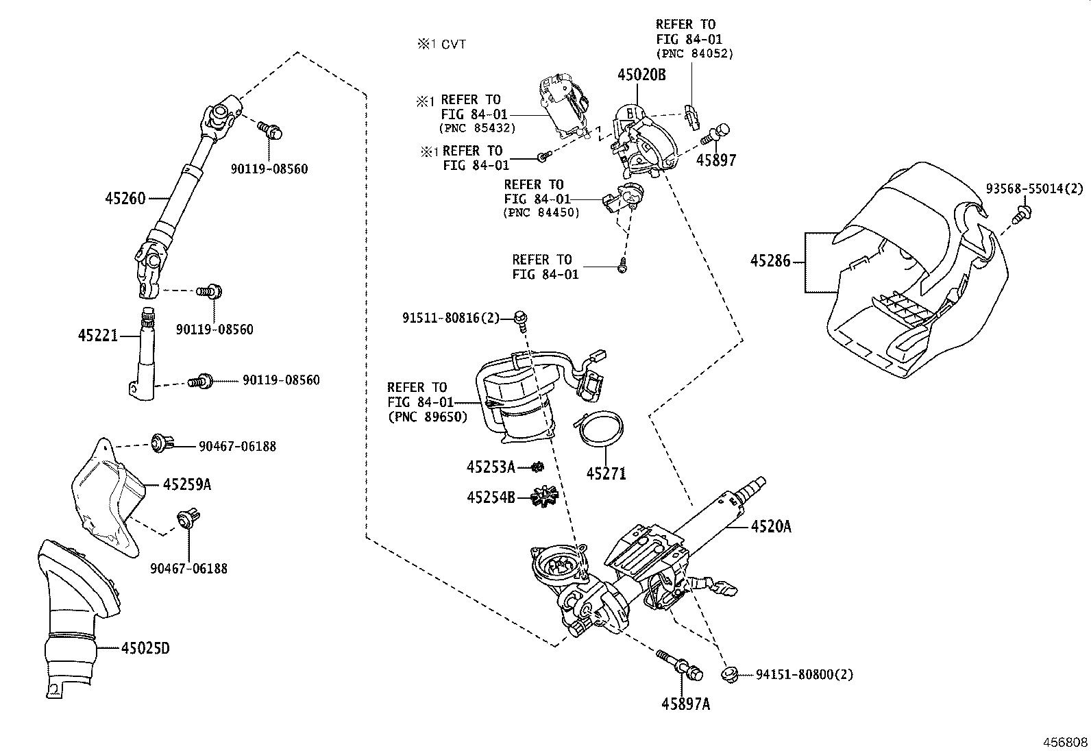 Toyota Corolla Im Actuator Or Upper Bracket Assembly