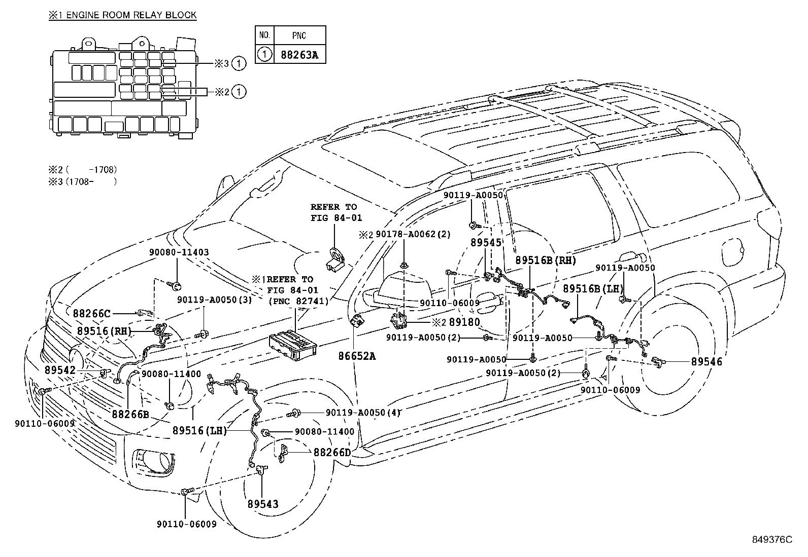 A Diagram Of Toyota Sequoia Abs