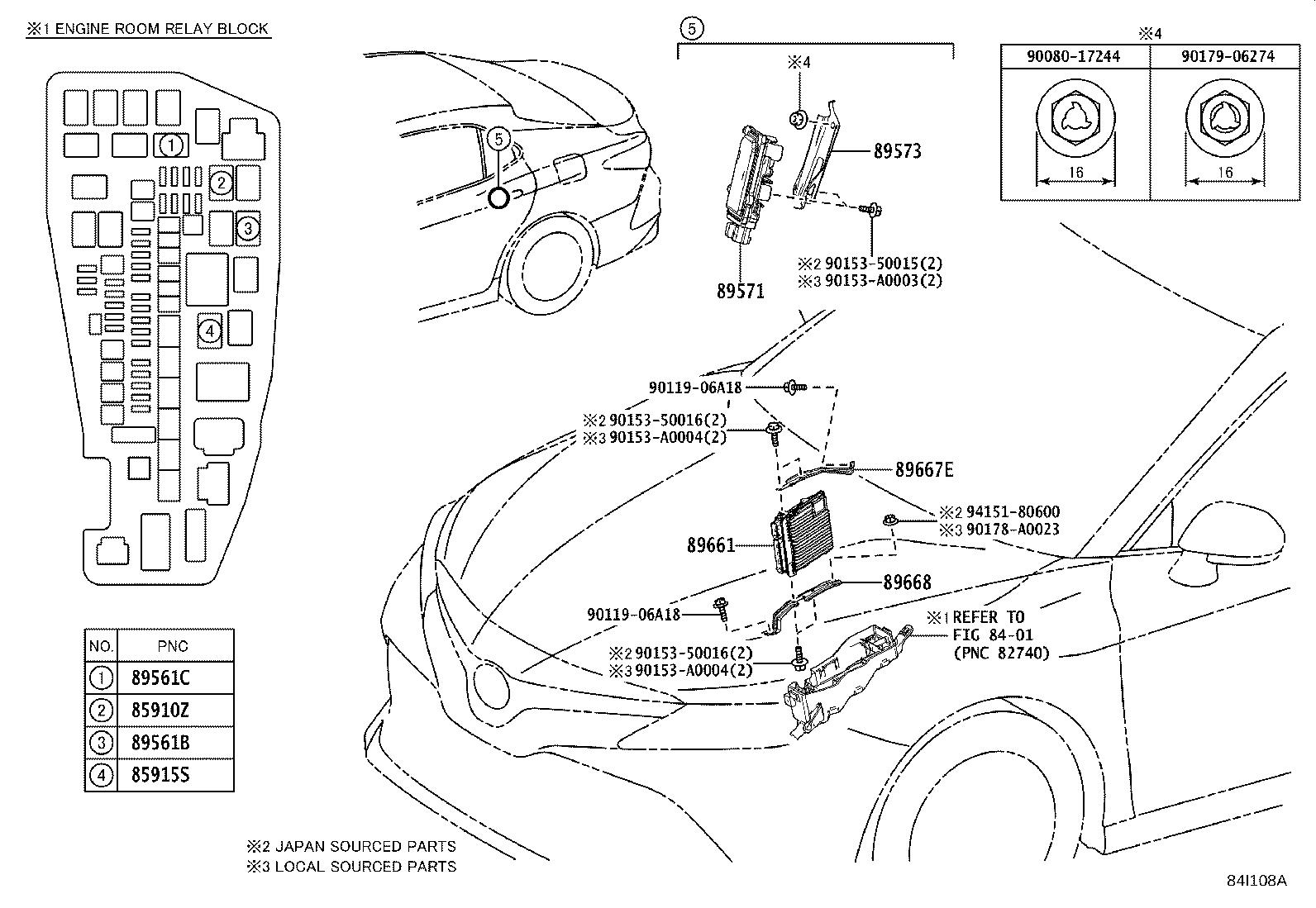 Toyota Camry Computer Engine Control Electrical