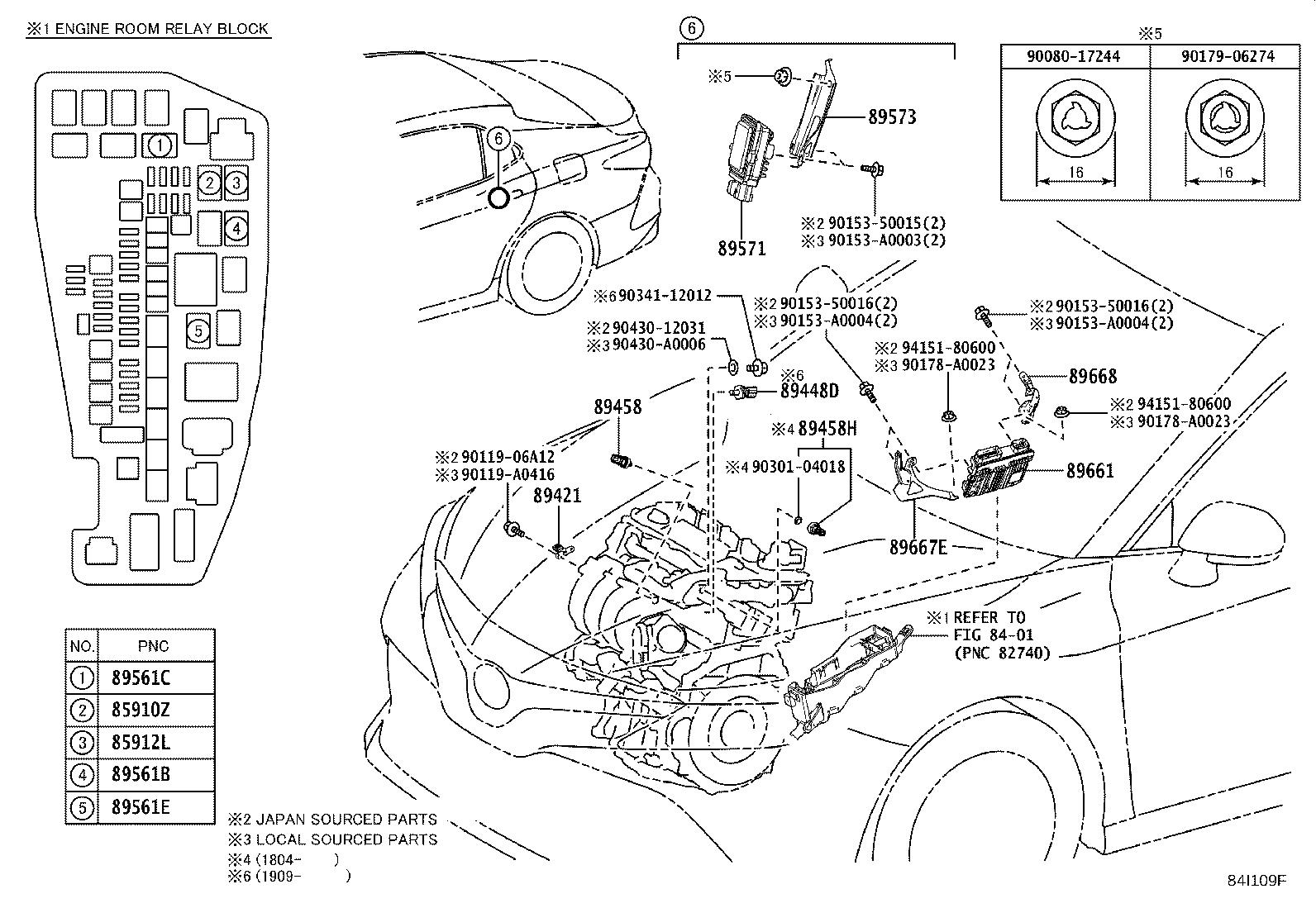 Toyota Camry Computer Fuel Pump Control Electrical