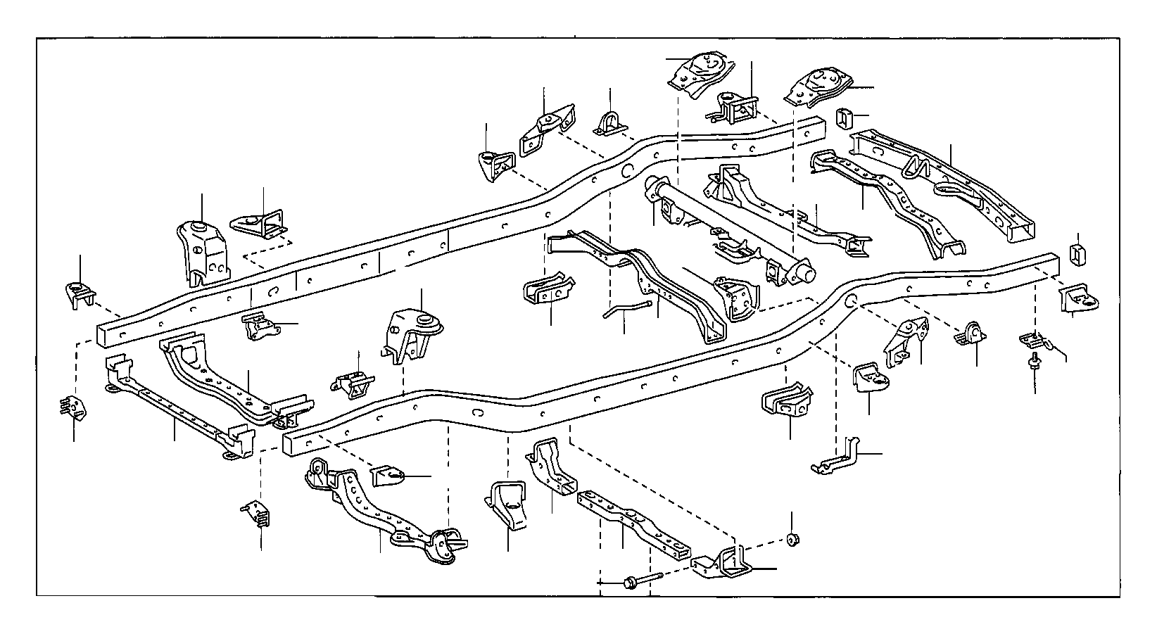 Toyota Parts Diagram Engine Assembly Brackets