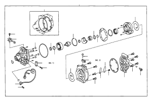 Toyota Tercel Seal assembly, shaft Conditioning, electrical, air  8836010030 | Marietta Toyota
