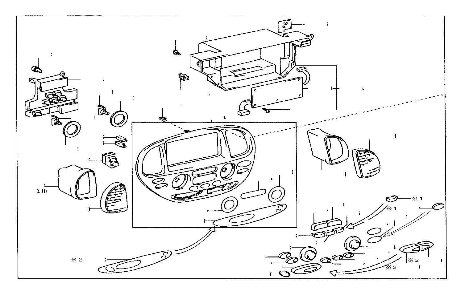 Toyota Sequoia Board Sub Assembly Printed Wire
