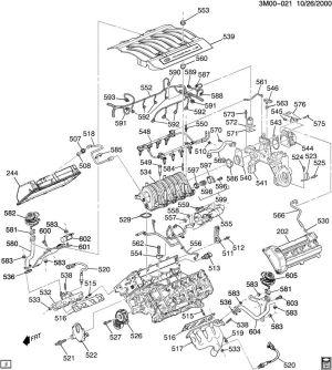 Engine revving  2000 SLS