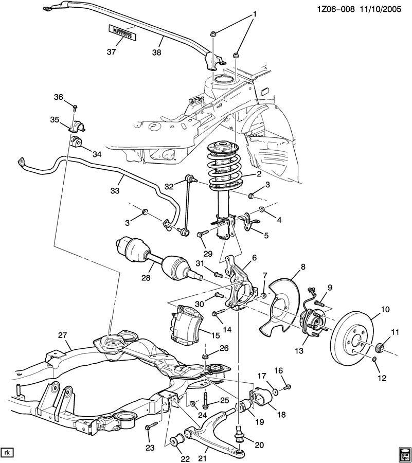 Engine Cobalt 06 Diagram Chevy