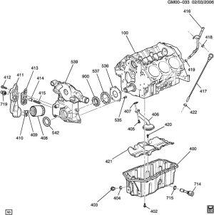 Buick Lesabre ENGINE ASM38L V6 PART 4 OIL PUMP,