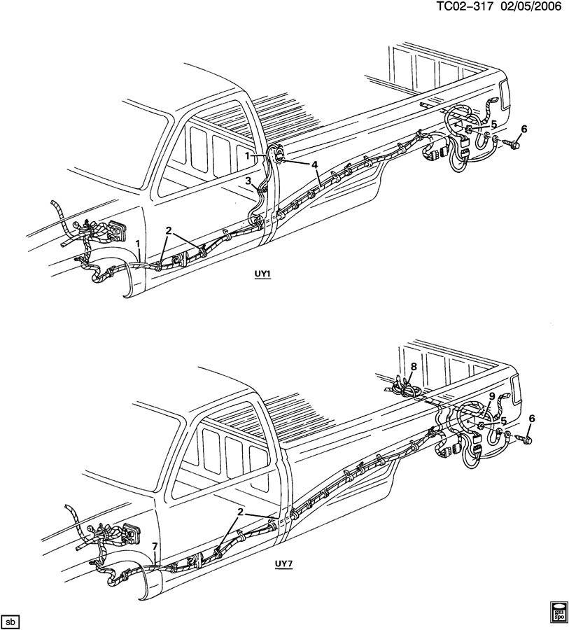 general motors trailer wiring diagram