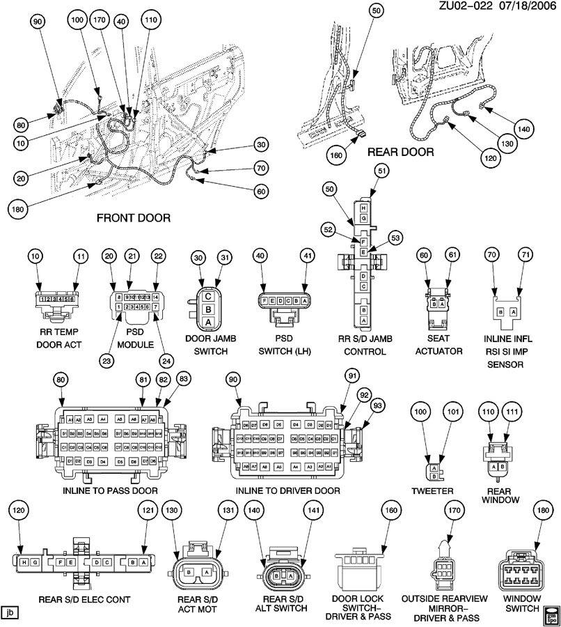 2007 Gmc Acadia Radio Wiring Diagram  Somurich