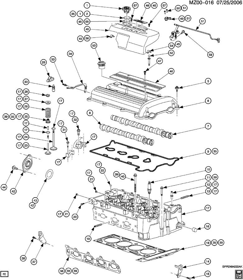 Gm 2 2 Timing Chain Diagram