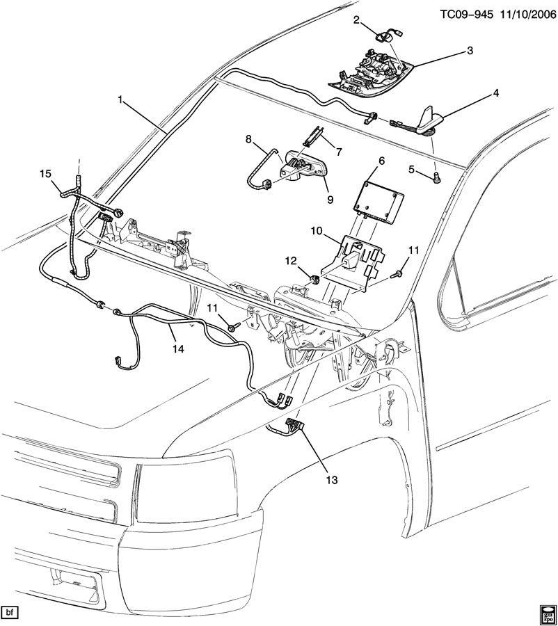 Silverado 2011 Door Rear Speaker
