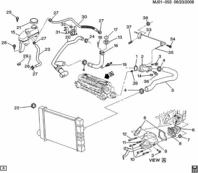 2003 chevy cavalier cooling system wiring diagram  wiring