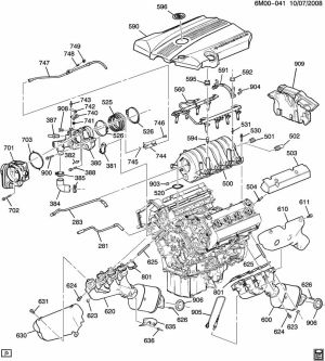2004 Cadillac cts belt diagram