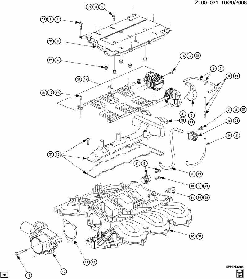 2004 Saturn L300 V6 Parts