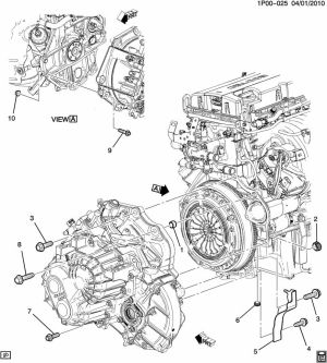 Chevy Cruze Engine Exploded Diagram  Wiring Diagram