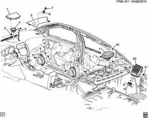 Adding Speakers to Rear Deck  Chevy Cruze Forum  Chevrolet Cruze